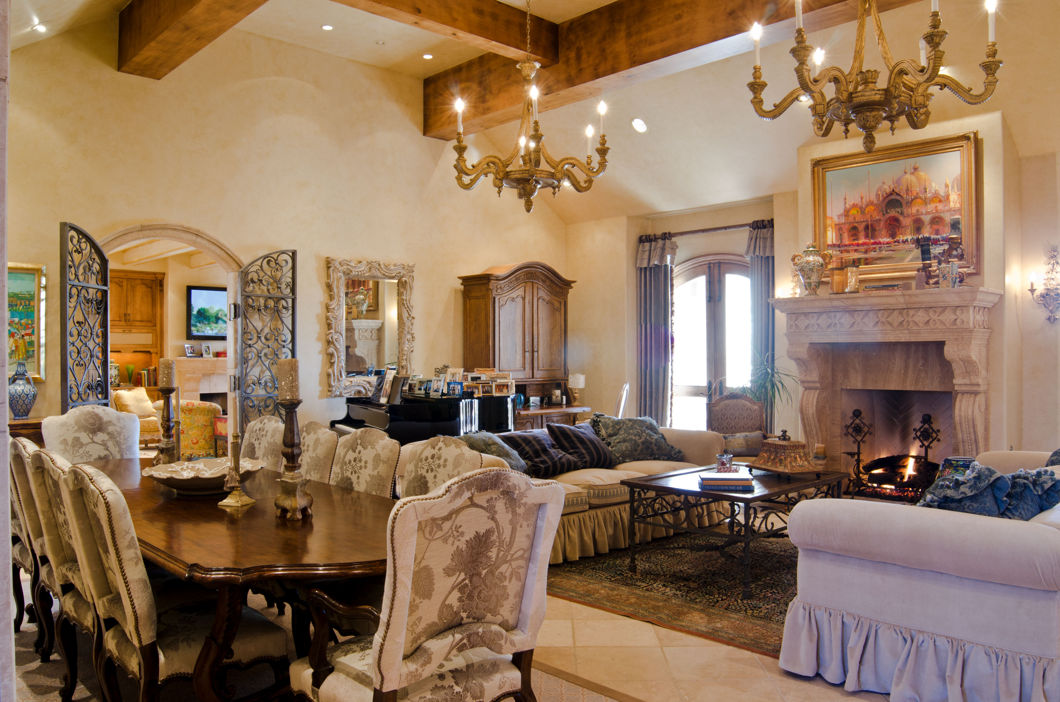 Featured Project Custom Designed Tuscan Style Build