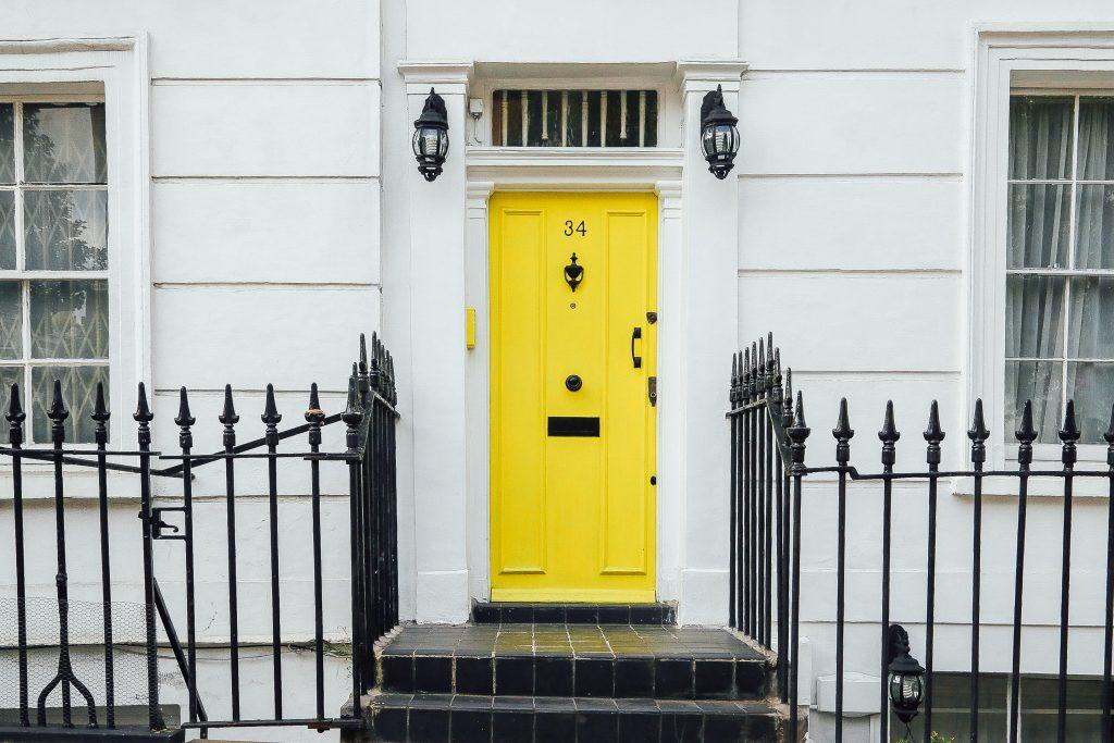chris-lee-homes-bright-yellow-front-door
